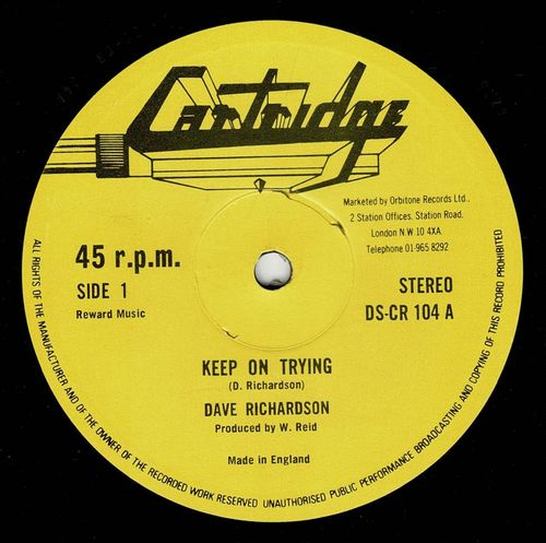 DAVE RICHARDSON-keep on trying
