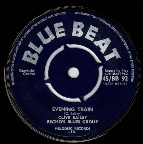 CLIVE BAILEY & RICOS BLUES GROUP-evening train