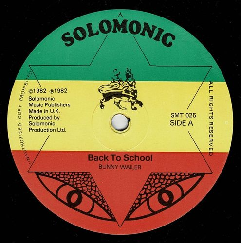 BUNNY WAILER-back to school