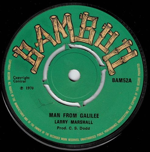 LARRY MARSHALL-man from galilee