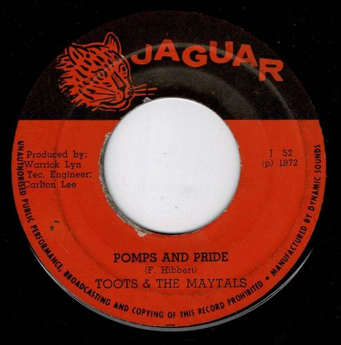 TOOTS & MAYTALS-pomps & pride