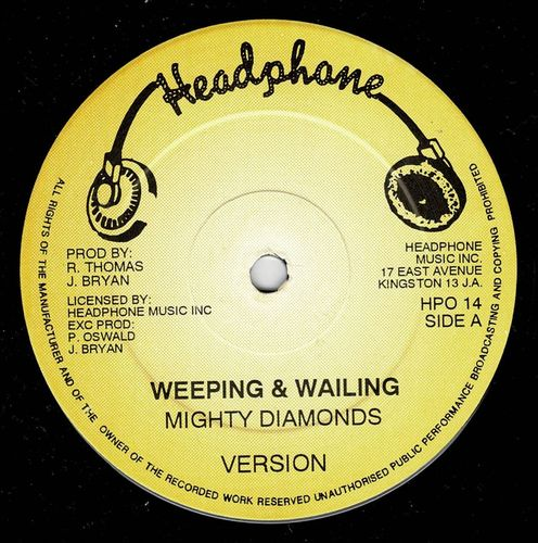 DIAMONDS-weeping  & wailing