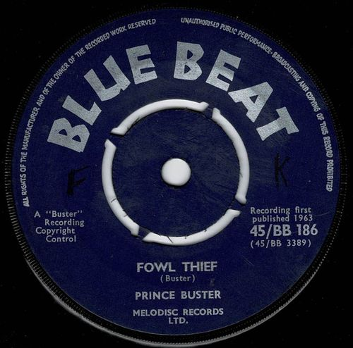 PRINCE BUSTER-fowl thief