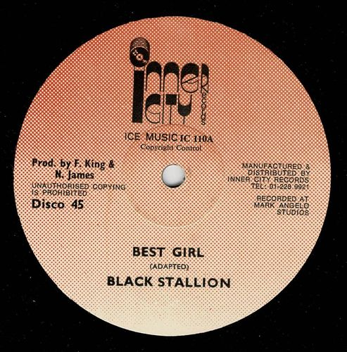 BLACK STALLION-best girl