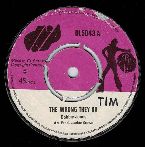 DOBBIE JONES-the wrong they do
