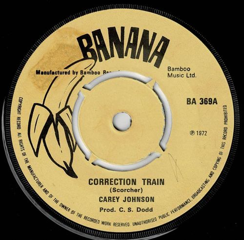 CAREY JOHNSON-correction train