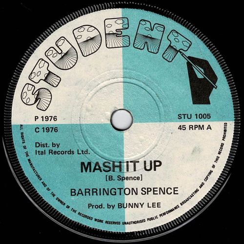 BARRINGTON SPENCE-mash it