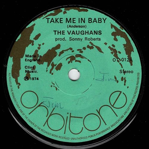VAUGHANS-take me in baby