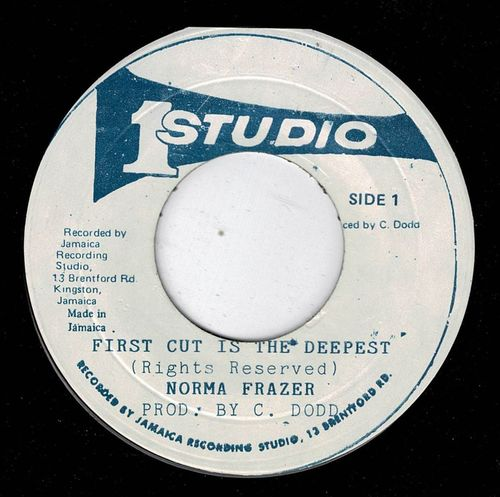 NORMA FRAZER-first cut is the deepest