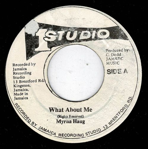 MYRNA HAUG-what about me