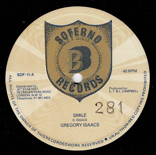GREGORY ISAACS-smile