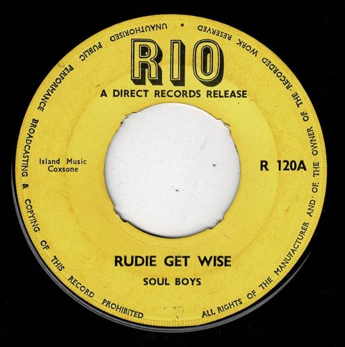 SOUL BOYS-rudie get wise