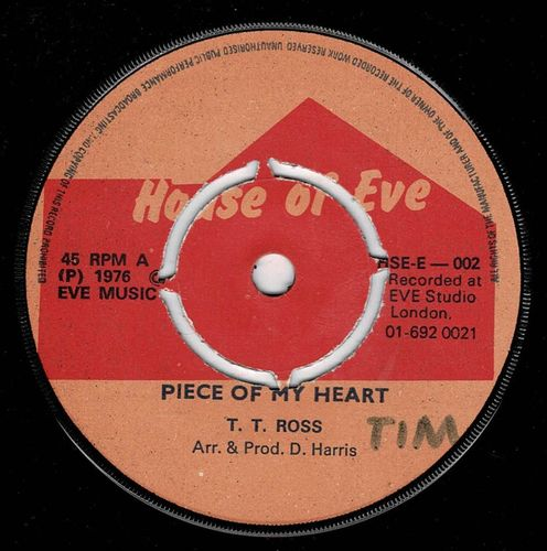 T T ROSS-piece of my heart