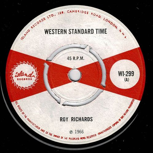 ROY RICHARDS-western standard time
