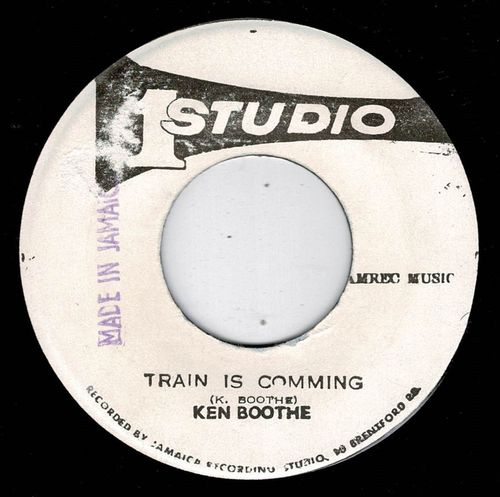 KEN BOOTHE-train is coming