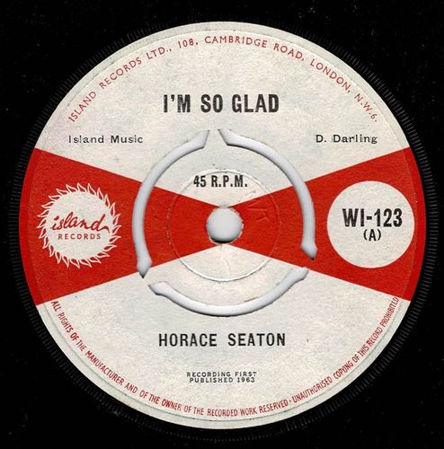 HORACE SEATON-i'm so glad