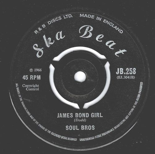 SOUL BROTHERS-james bond girl