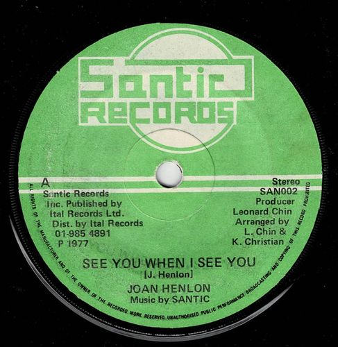JOAN HENLON-see you when i see you