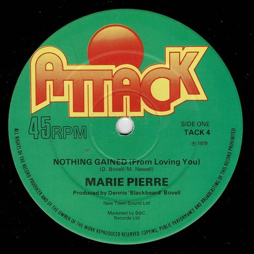 MARIE PIERRE- nothing gained