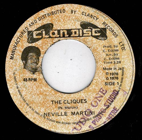 NEVILLE MARTIN-the cliques
