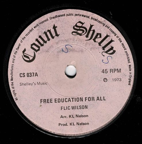 FLICK WILSON-free education for all