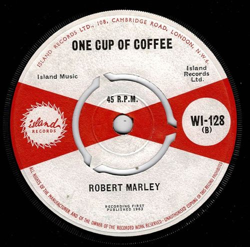BOB MARLEY-one cup of coffee