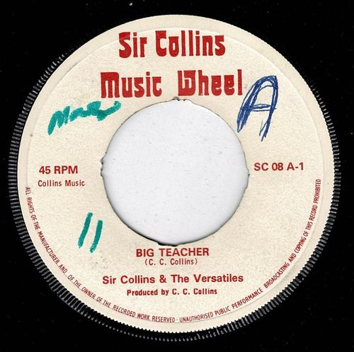 SIR COLLINS & VERSATILES-big teacher