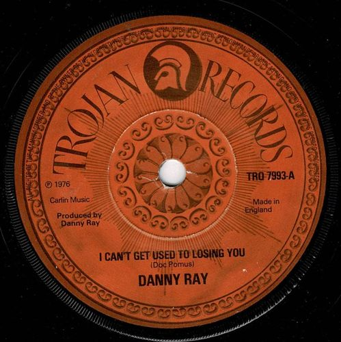 DANNY RAY-i can't get used to losing you