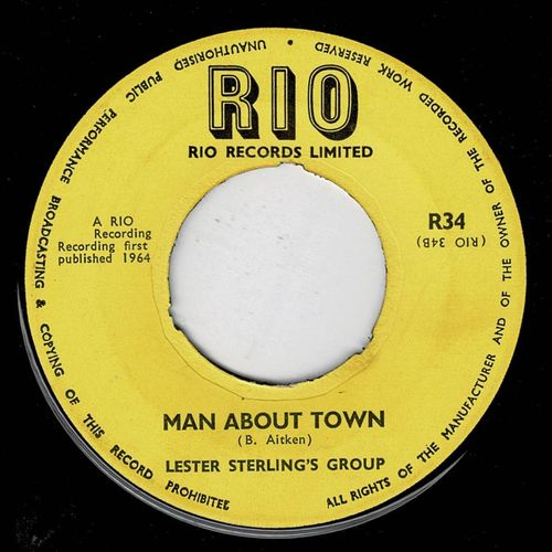 LESTER STERLING-man about town