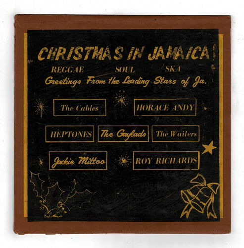 VARIOUS-christmas in jamaica (silk screen cover)