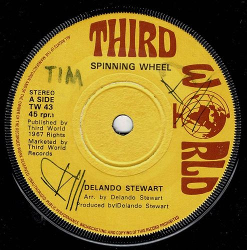 DELANO STEWART-spinning wheel