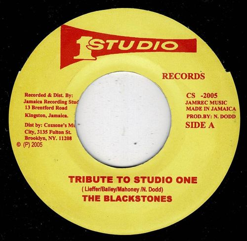 BLACKSTONES-tribute to studio one