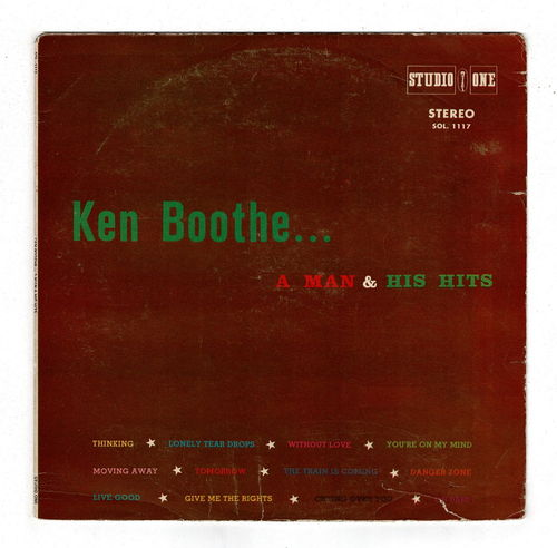 KEN BOOTHE-a man & his hits