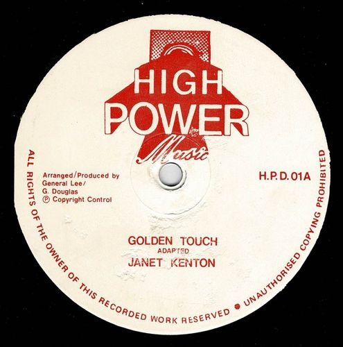 JANET KENTON-golden touch