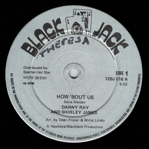 SHIRLEY JAMES & DANNY RAY-how 'bout us