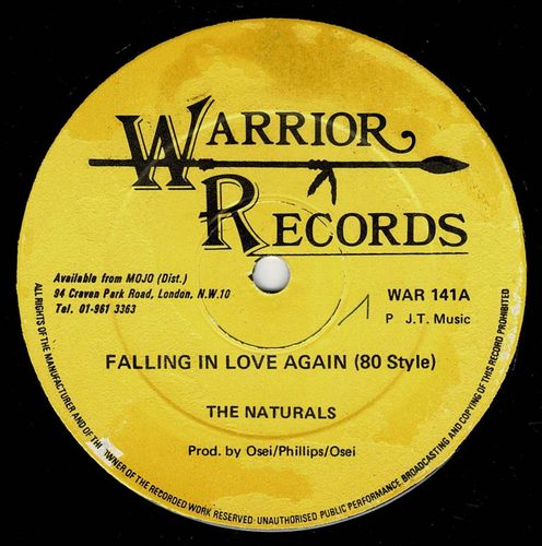 NATURALS-falling in love again