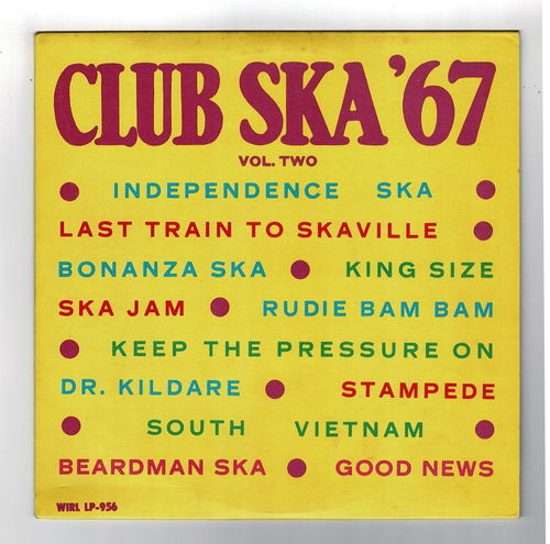 VARIOUS-club ska '67 volume 2