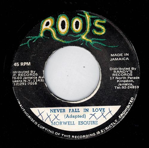 MORWELLS-never fall in love