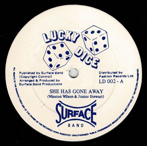 SURFACE BAND-she has gone away