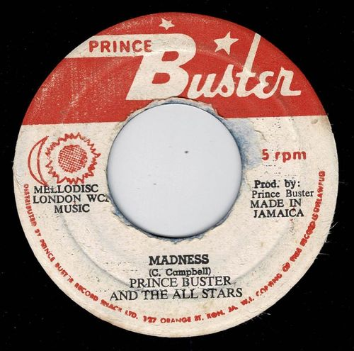 PRINCE BUSTER-madness