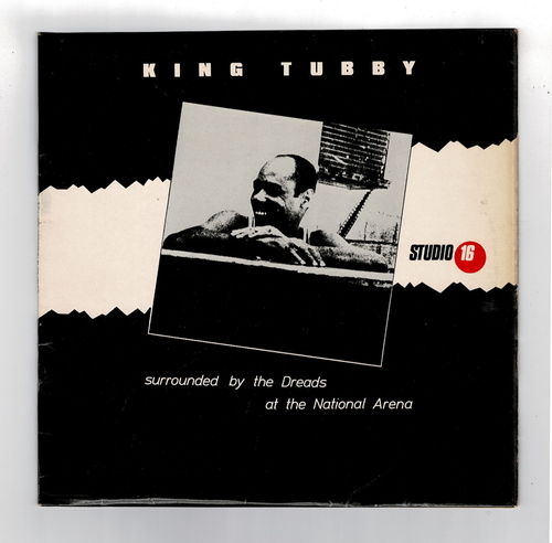 KING TUBBY surrounded by the dreads at the national arena