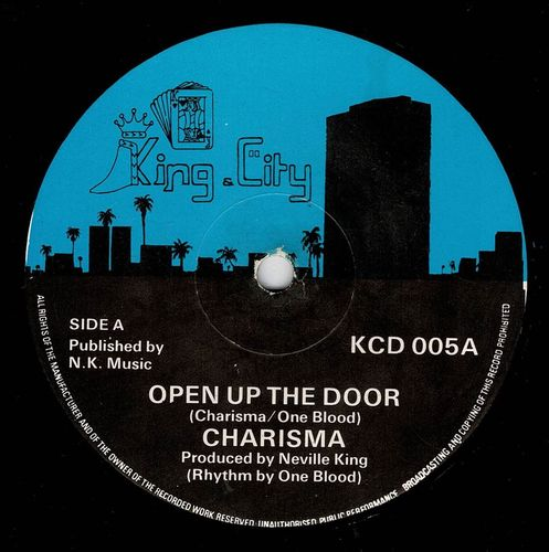 CHARISMA-open up the door