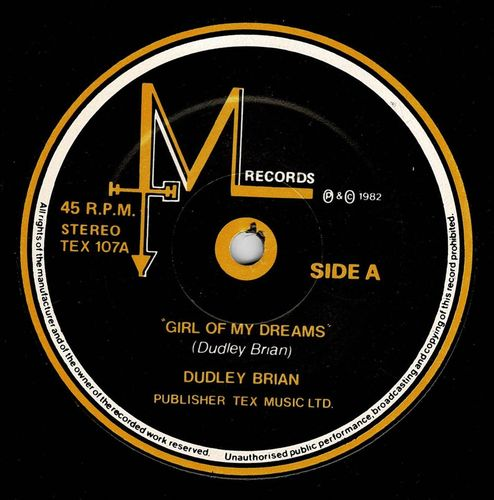 DUDLEY BRIAN-girl of my dreams