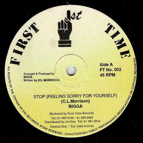 BIGGA-stop feeling sorry for yourself