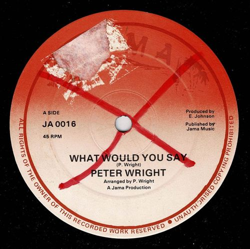 PETER WRIGHT-what would you say