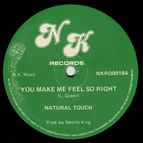 NATURAL TOUCH-you make me feel so right