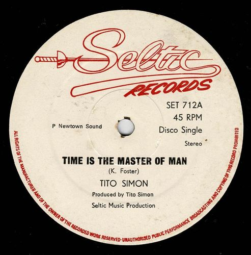 TITO SIMON-time is the master of man