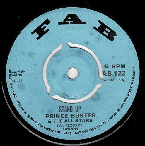 PRINCE BUSTER-stand up