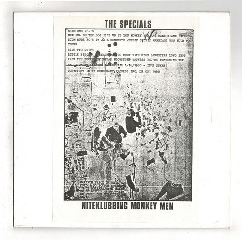 SPECIALS-niteklubbing monkey man