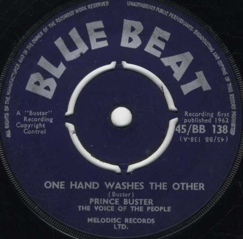 PRINCE BUSTER-one hand washes the other